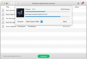 NoteBurner Spotify Music Converter 2.2.5 Crack With Serial Key Download (Latest)